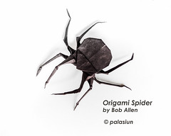 P71031-103440mm (polelena24) Tags: origami spider insect halloween