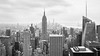 Top of the Rock - NYC (corentin.sch) Tags: skycraper topoftherock nyc batiment building sky gratteciel bw view newyork empire state canon