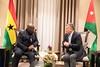 جلالة الملك عبدالله الثاني يلتقي رئيس جمهورية غانا، نانا أكوفو أدو، في العقبة (Royal Hashemite Court) Tags: kingabdullahii جلالة الملك عبدالله الثاني jordan الأردن ghana غانا