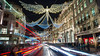 Regent Street... (Mohamed Haykal) Tags: london england unitedkingdom gb hasselblad x1d xcd30mm mohamed haykal regent street nightshot westminster soho applestore redbus christmas lights december decoration