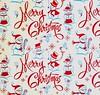 Vintage Merry Christmas Snowman Box Detail (hmdavid) Tags: vintage christmas merrychristmas gift box snowmen midcentury art illustration script 1950s