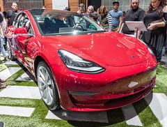 2017 Tesla Model 3 (ccmonty) Tags: 2017laautoshow conventioncenter dtla laautoshow laas losangeles losangelesconventioncenter tesla teslamodel3 autoshow automobile car cars downtownlosangeles vehicle california unitedstates