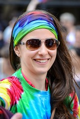 Parade smile (vinnie saxon) Tags: nikon nikoniste colors girl event portrait pride parade street