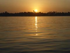 Nile Sunset (Aidan McRae Thomson) Tags: nile river egypt sunset water light