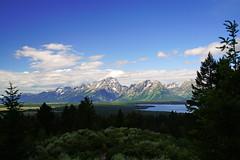 Teton range from Signal mountain, Wyoming, USA (Andrey Sulitskiy) Tags: usa wyoming grandteton