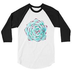 Succulent Clothing, Succulent T Shirt, Succulent Shirt, Rare Succulents, Echeveria Shirt, Rare Succulent Plants, Succulent Baseball Shirt, B by 25VintagePlace