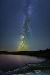 night lake (vladislavkizin) Tags: nightsky night nightphoto nightshot photo milkyway galaxy fuji fujifilm fujifilmphoto ngc