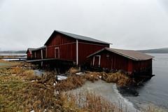 Nurmes (Tuomo Lindfors) Tags: suomi finland nurmes venesatama marina venevaja boathouse pielinen järvi lake vesi water dxo filmpack