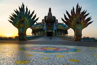Elephants Temple Thep Wittayakhom Vihara