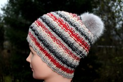 2017.11.09. salla pipo 3319m (villanne123) Tags: 2017 myssyt beanie hat handknitted handknit knitting knittedhat teeteesalla pipo villanne tupsupipo neulottu