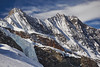 Täschhorn and Dom (Frank van de Velde) Tags: alp alps mountain mountains glacier glaciers gletscher swiss saasfee valais wallis schweiz highaltitude gipfel peak