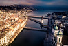 Flying over Lucerne (mscgerber) Tags: drone luzern mavic switzerland schweiz lucerne drones photography dronephotography river water bridge building architecture oldtown historical clouds cloudy cloudscape mood moody dark sunlight shadows europe european europa