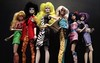 The Misfits (screamboy19) Tags: jem holograms misfits pizzazz roxy stormer jetta clash graphix color infusion integrity toys fashion royalty vintage 80s dolls