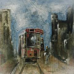 "Transit (""Jimmer"" ( http://jim-vance.pixels.com )) Tags: streetcar street transit city cityscape"