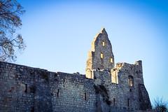Burgruine (Hohenurach) (BiancaD2801) Tags: alt ruine