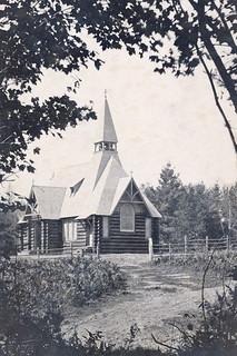 St John's of the Wilderness - original Church Building