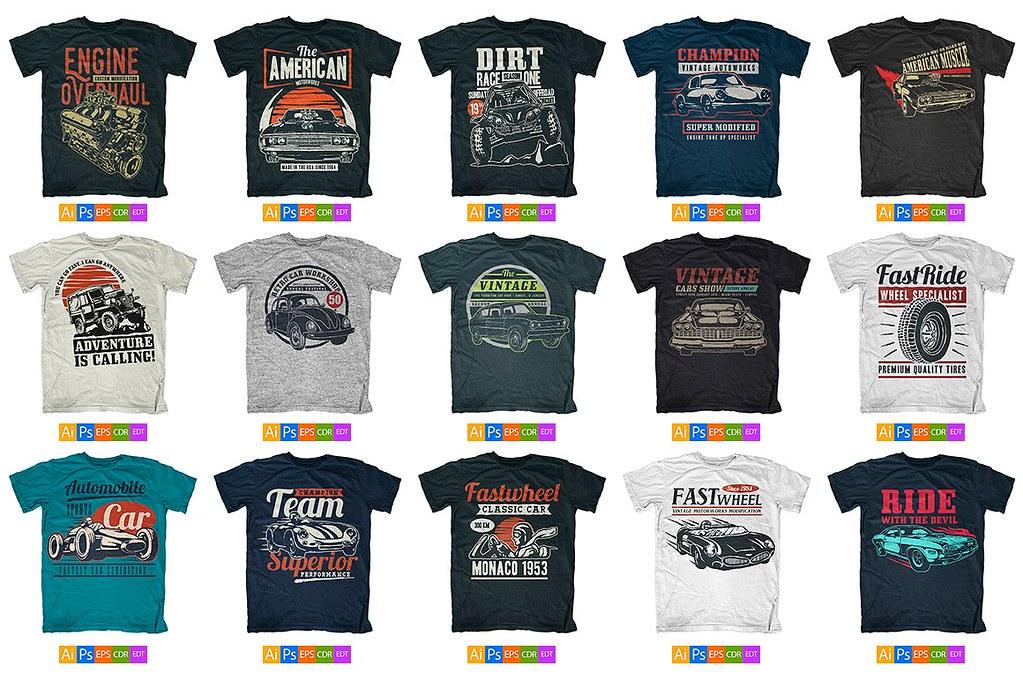 3e702ac65 100 T-Shirt Designs Mega Pack – DESIGN-TSHIRT.COM