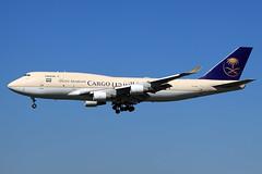 Saudi Arabian Cargo  Boeing 747-412(BCF) TF-AMI (widebodies) Tags: amsterdam ams eham widebody widebodies plane aircraft flughafen airport flugzeug flugzeugbilder saudi arabian cargo boeing 747412bcf tfami