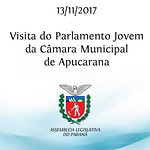 Visita do Parlamento Jovem da Câmara Municipal de Apucarana
