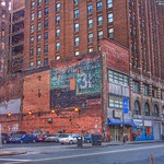 Detroit  Michigan...Old Ghost Sign ~ On Pizza Factory Building thumbnail