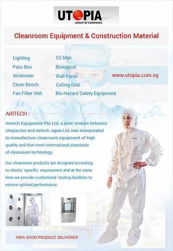Cleanroom Equipment And Construction Materials