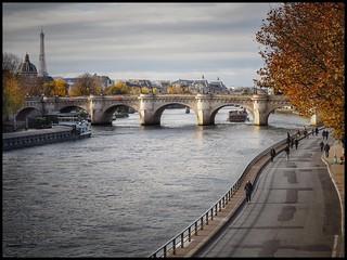 Balade en bord de Seine