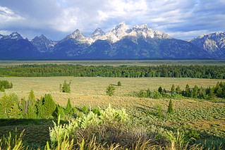 The Cathedral Group, Grand Teton NP, USA