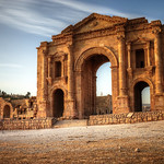 arch of hadrian jerash jordan thumbnail