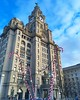 Christmas on the pier head (col_trac) Tags: candycane liverbuilding pierhead liverpool