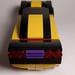 Corvette E1: Rear View