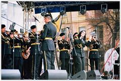 Military Orchestra. (Ігор Кириловський) Tags: military orchestra c41 ukraine chernivtsi chernivtsicityday slr nikonf5 af zoomnikkor 28105mmf3545d film kodak ektar100 promaster spectrum 7uv