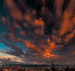 Waiting for Sunset (BeNowMeHere) Tags: ifttt 500px travel clouds view trip nature landscape lake switzerland colours sky sunset lausanne lakegeneva lakeleman lakeléman benowmehere waitingforsunset