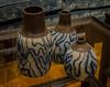 Designer vases (frankmh) Tags: vase ceramics design handmade karoosgallery kullagunnarstorp helsingborg skåne sweden indoor