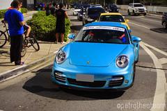 911 Turbo (Petrolhead Team) Tags: porsche porsche911 911 911turbo turbo azul blue azzuro sãopaulo brasil brazil flatsix