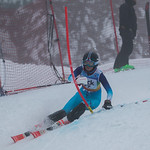 FIS Coaches Cup Sun Peaks Ladies SL-2nd place Tora Hoshizaki (NATC) PHOTO CREDIT: Chris Naas