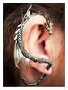 Ear wyrm (ikkio_too) Tags: dragon ear jewellery olympus omdem1 mzd1240mm picasa