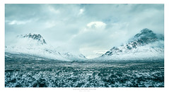 Icy Glen Coe (Nils Leonhardt) Tags: landscape glencoe scotland highlands schottland winter eis schnee ice sky mountain berge canon nature landschaft berg himmel canoneos5dmarkii