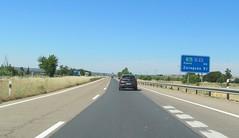 A-23-59 (European Roads) Tags: a23 huesca zuera zaragoza españa aragón spain autovía