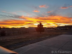 November 26, 2017 - Another amazing Colorado sunset. (Al Feuerborn)