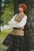 Outlander (aliasmarteena) Tags: outlander outlanderstarz cosplay cosplayer lucca comics scotland scozia tartan canon 1100d crossplay jamie fraser 2017