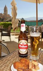 Mahou Cinco Estrellas - Segovia, Spain (Neil Pulling) Tags: segovia spain espagne castillayleón bier beer mahoucincoestrellas cerveza