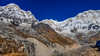 The majestic view (siam wahid) Tags: annapurna abc adventure travel trek sky mountain landscape mountainscape mountainside