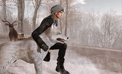 Animals. (AW02) Tags: sl secondlife photography winter