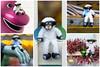 Dale is dazzled (hehaden) Tags: sheep toy pier brightonpier palacepier brighton sussex collage