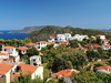 Alonnisos (jeff.dugmore) Tags: alonnisos greece greekisles sporades europe travel coast shore ocean aegean sea sky trees outside outdoors landscape seascape seaside water tranquil bay olympus