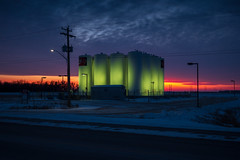 Tanks (bryanscott) Tags: architecture building manitoba snow warren winter canada ca