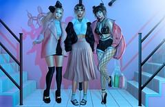 Girls just wanna have fun! ... (Anuska L.) Tags: girls dolls friends colours fashionblog fashionvictims fashionstyle femme fashionista fashionblogger femalefashion feeltherush 3d 3dpeople 3dgirls 3design 3dart 3dfashion digital digitalphotography digitalart digitalfashion zenith beusy seul ecloth pumec gaia fri lamb lagyo teefy bleich villena monso kitja spirit breathe fameshed thechapterfour uber district20 thearcadegacha ison pseudo
