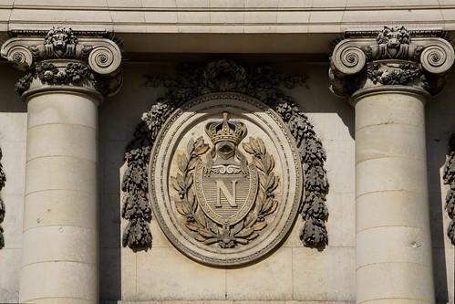 Façade du Palais de Compiègne