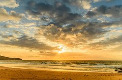 Sunrise Seascape & Clouds (Merrillie) Tags: daybreak shoreline sand landscape nature australia surf rocks killcarebeach newsouthwales waves centralcoast nsw clouds beach ocean water coastal dawn photography sea sky seascape waterscape coast killcare outdoors