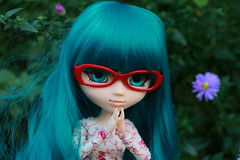 Goodbye, Shadow (Osana Rose) Tags: pullip doll groove jun planning barasuishou rozen maiden anime cute kawaii obitsu body wig glasses